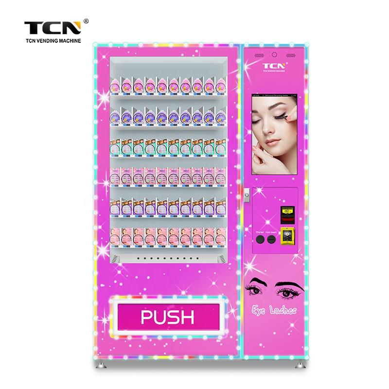TCN привлекательный дизайн laah торговый автомат для удобного магазина, торговый автомат для красивых ресниц, торговый автомат для волос