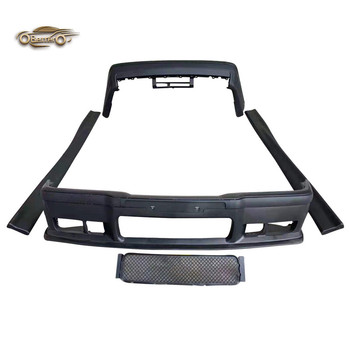 BETTER Car Body kits For 1990-1998 Bmw 3 Series E36 Upgrade M3 Style Front Bumper Rear Bumper Side Skirts Car bumpers