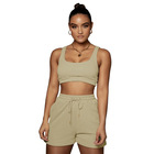 Suit Sweat Women Sweat Suits Set Wholesale Summer Outfits 2 Piece Jogging Suit Women Sweat Shorts Set