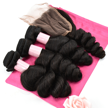 Fast Delivery Qingdao Haiyi Wholesale price Peruvian Hair Loose Wave Virgin human Hair
