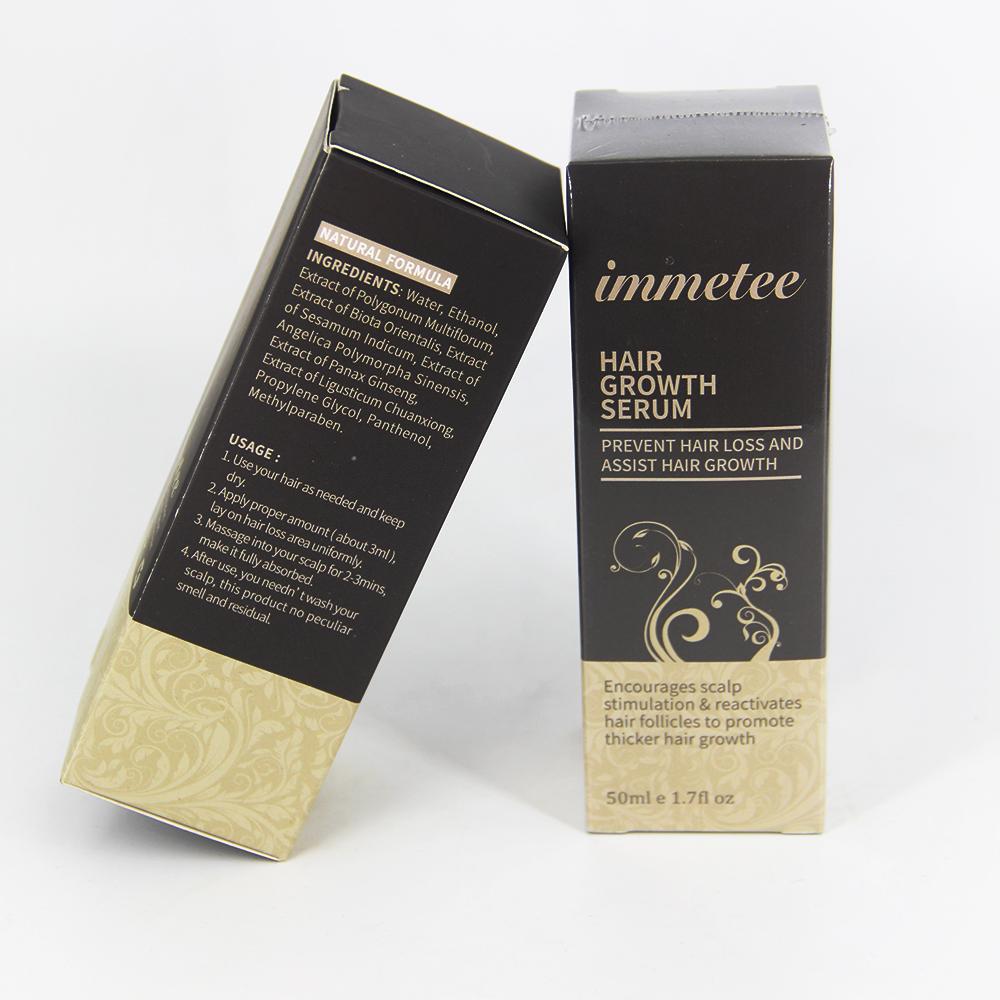 Жидкость для роста волос Immetee масло для наращивания волокна Мужская Сыворотка для роста