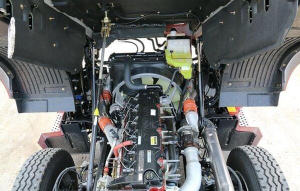DZ93259820072   Strengthen the overturning cylinder  SHACMAN H3000 Cab overturning mechanism