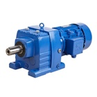 Helical Speed Reducer Motor Reducer R Series Inline Helical Ac Motor High Speed Gearbox Reducer