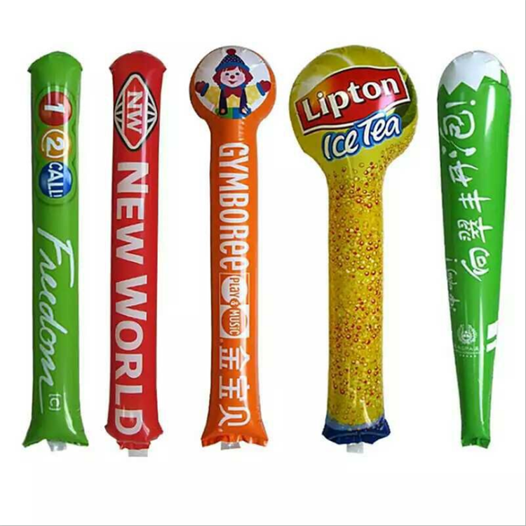 Inflatable Cheering Hot Stick Balloon In Noise Maker