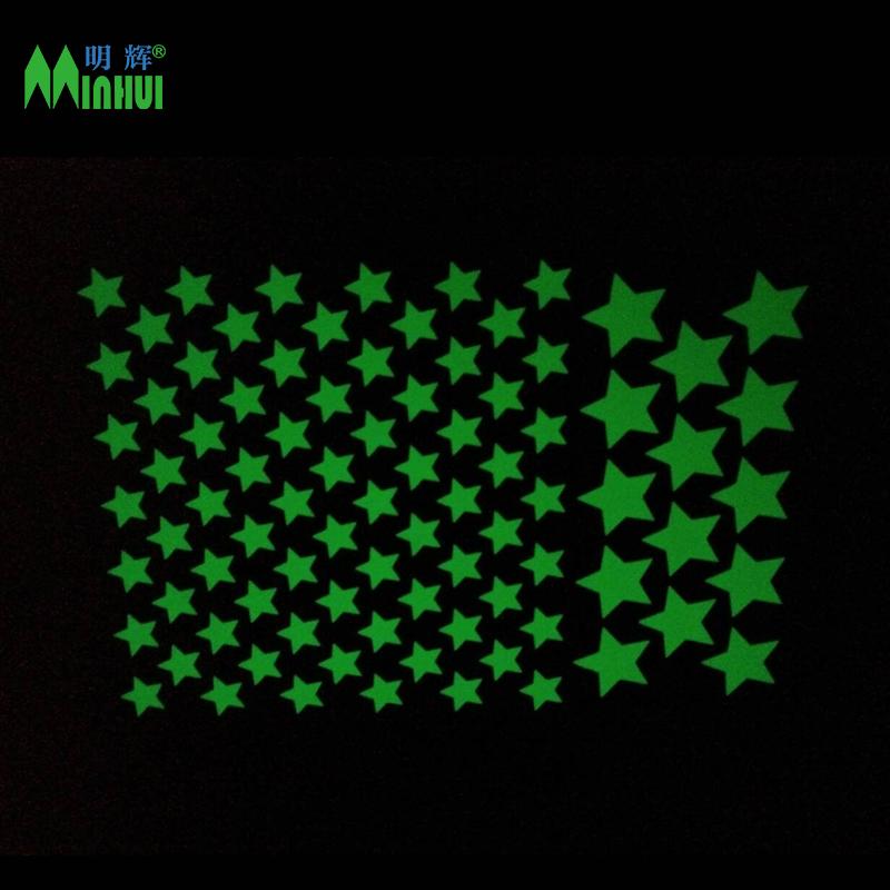 Самоклеящиеся светящиеся звезды, светящиеся в темноте, наклейка-звезда