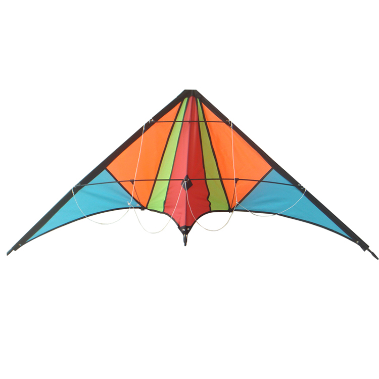 Logo can be customized china sport mono stunt kids kite thread surf