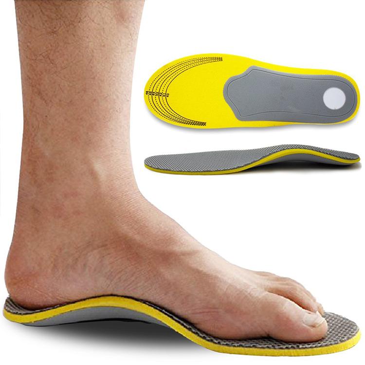 Спортивные стельки из EVA с эффектом памяти, стельки с высокой поддержкой свода стопы, плоские стельки для обуви