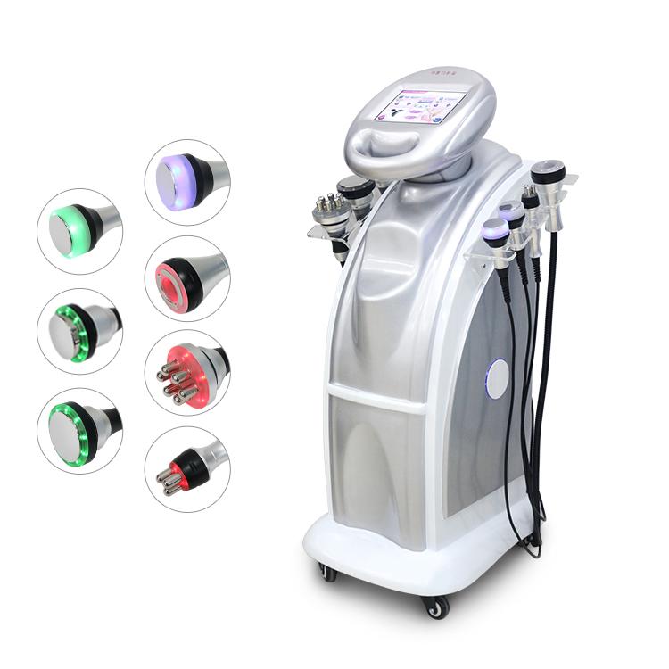 Ультразвуковая вакуумная кавитационная система 40k/80k, машина для похудения, удаление целлюлита RF, машина для похудения тела