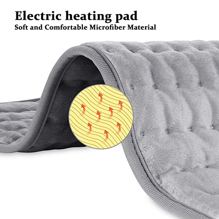 ETL 12x24inch Heat Therapy Electric Heating Pad For Knee Shoulder Neck Back Spine Leg Pain Relief Winter Warmer EU/US/UK/AU