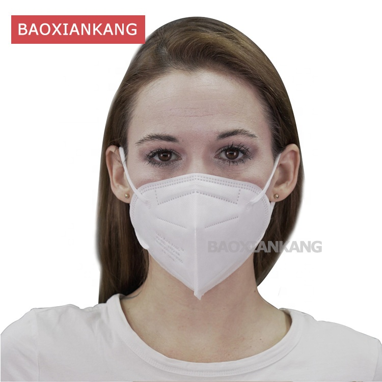 Manufacturers China KN95 5 Ply Non-woven Face Mask Disposable Earloop FFP2 - KingCare | KingCare.net