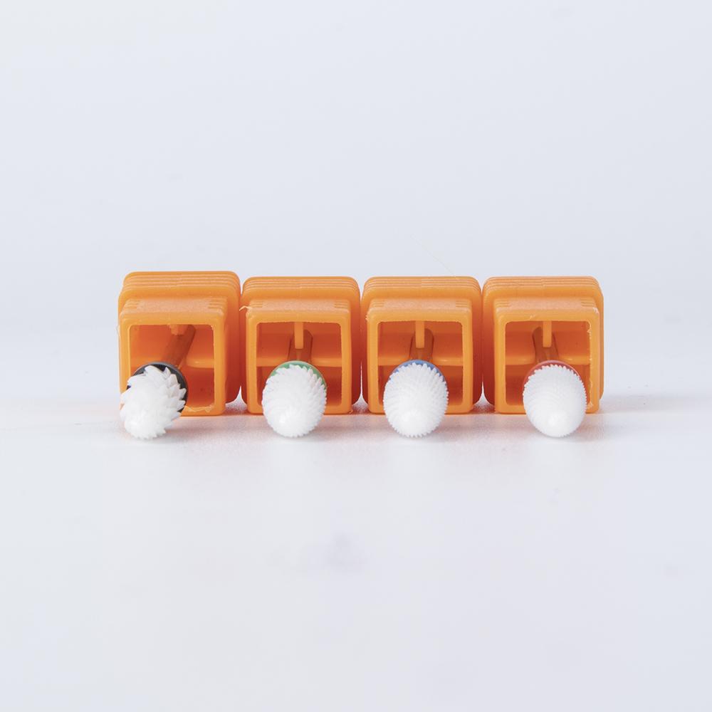 Factory price top quality spherical ceramic nail drill bit texas tornado xxc nail drill bit