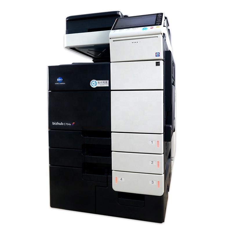 konica minolta bizhubC454 Remanufactured Used Copier Machine For Sale Colored Printer For Konica Minolta c454e