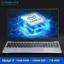 """15,6 """"игровой i7 металлический SSD 256 ГБ HDD ТБ 16 Гб RAM процессор Intel Windows 10 офисная школа AZERTY итальянская испанская русская клавиатура Ligh(Китай)"""
