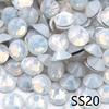SS20-White Opale Con Strass