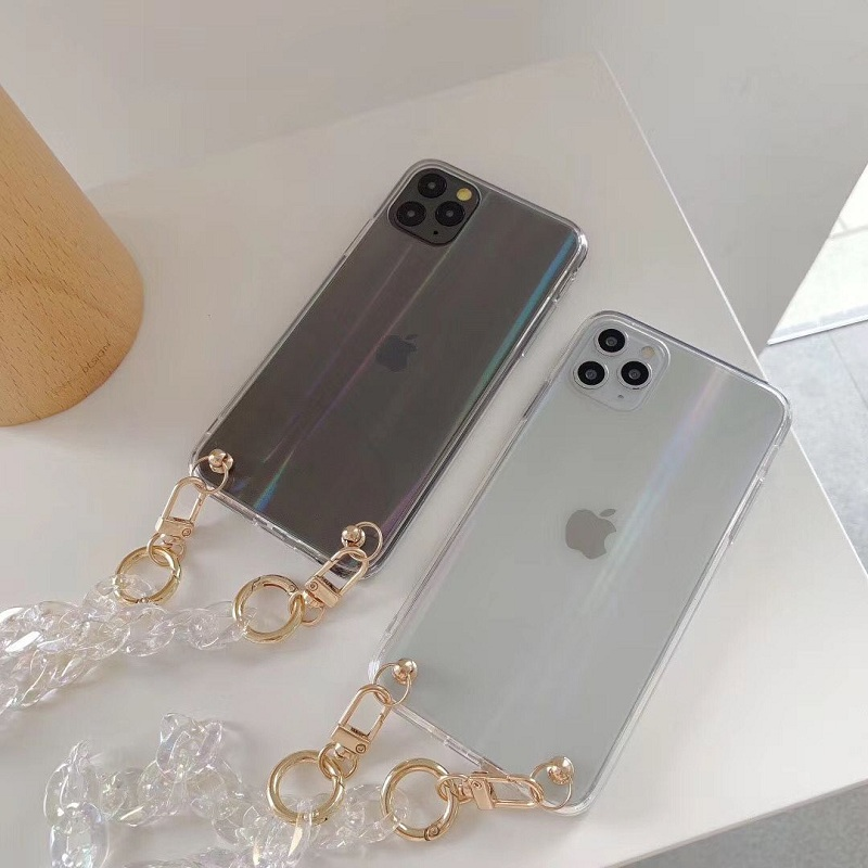 Phone case iPhone 11 Pro Max for phone chain