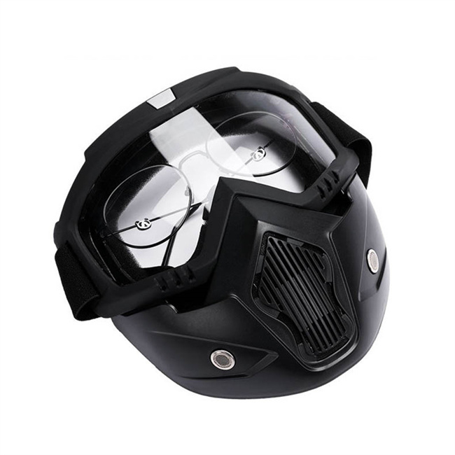 SU-060 Motorcycle Full Face Mask Protective Outdoor Masks Military Ski Goggle