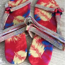 Женские шлепанцы; Летние шикарные сандалии на плоской подошве; Женская пляжная обувь в гладиаторском стиле; Модная повседневная обувь без з...(Китай)