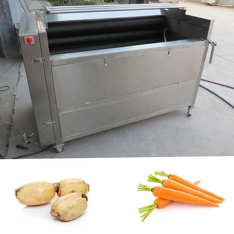 Fully automatic new design electric small spring onion peeling machine