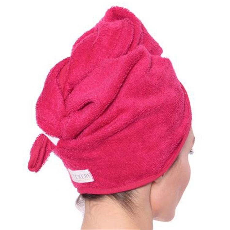Полотенце для сушки волос из бамбука и хлопка, полотенце для обертывания, мягкое полотенце для волос