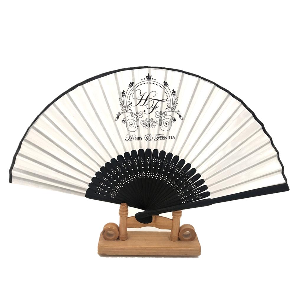 Best Quality Personalized Logo Hand Fan Custom Printed Folding Small Hand Held Fan Church Hand Fan