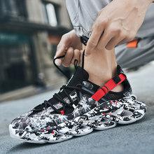 Мужская Баскетбольная обувь, амортизирующая высокая дышащая Баскетбольная обувь, спортивные ботильоны, Нескользящие тренировочные кроссо...(Китай)