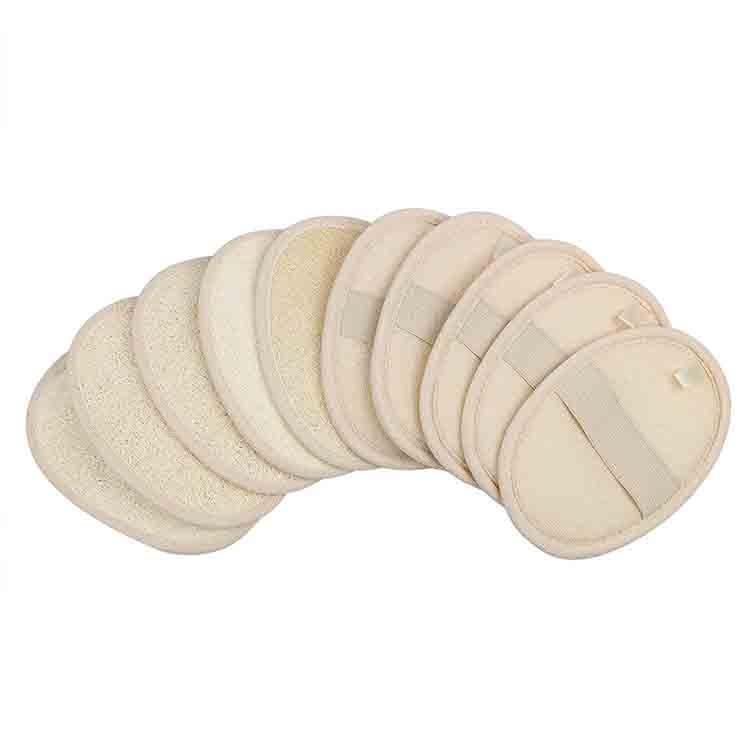 100% натуральный скребок для тела, перчатка для закрытия кожи, губка для отшелушивания люфы, губки