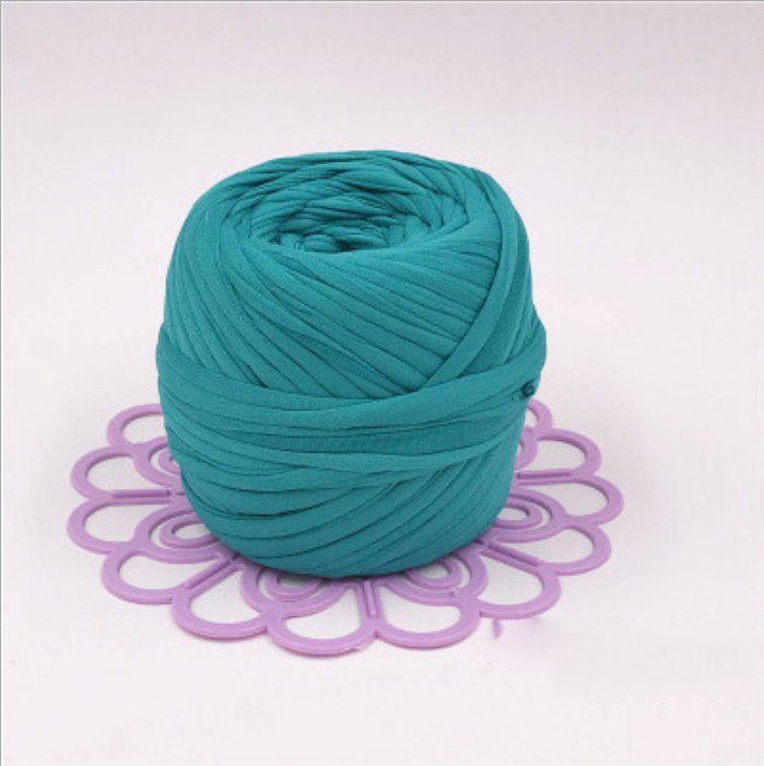 100% Polyester T-Shirt Yarn Hand knitting for DIY Yarn crochet T Shirt