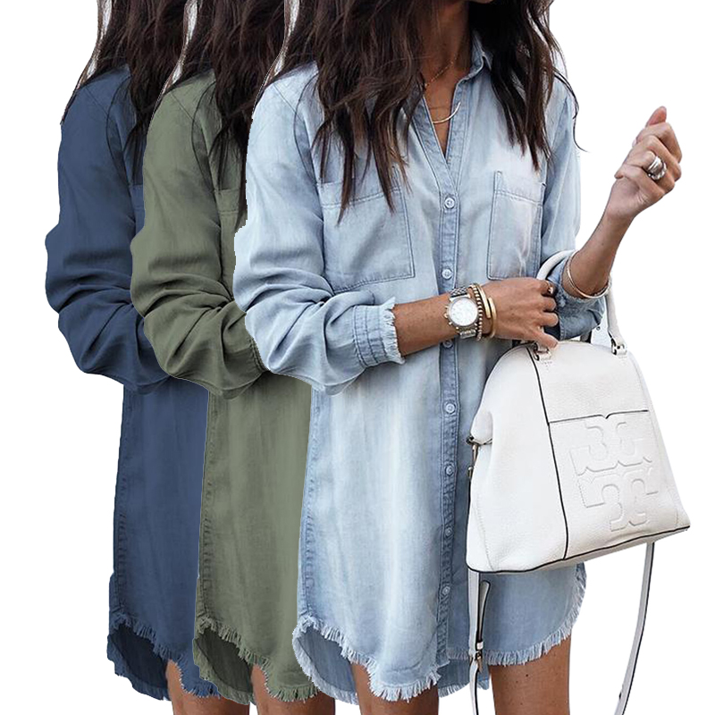 Encuentre El Mejor Fabricante De Vestidos Jeans Para Damas Y Vestidos Jeans Para Damas Para El Mercado De Hablantes De Spanish En Alibaba Com
