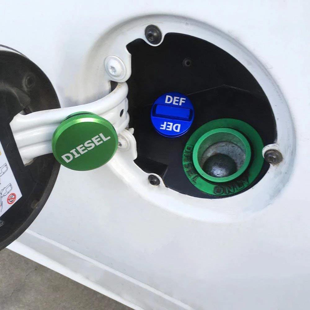 Diesel Fuel Filler Gas Tank Cap Magnetic Billet for 13-19 Dodge RAM 1500 2500