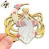 Girl pin 3