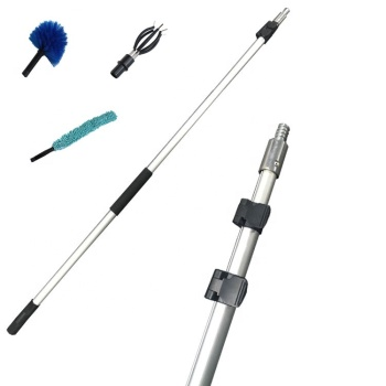 aluminum telescopic pole for window cleaning, gutter cleaning and hanging lights