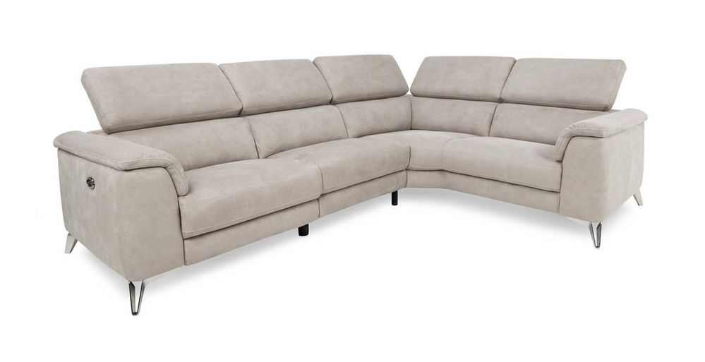 YASITE Cheap Price Sectional Corner Full Fabric Recliner Sofa For Living Room