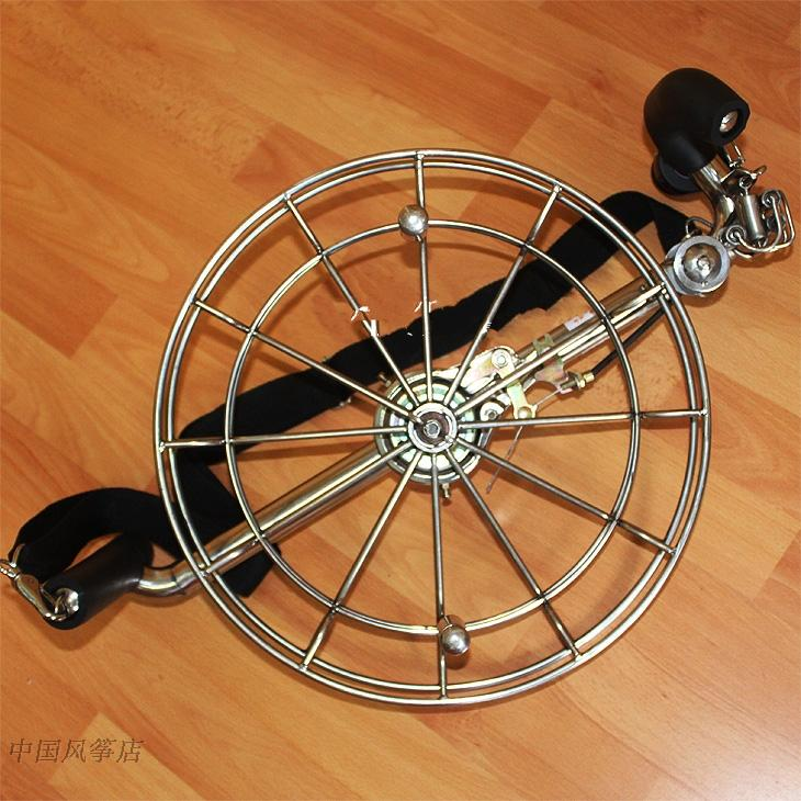 Stainless steel harness wheel Large kite professional release device Local Hao kite wheel