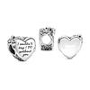 Bridesmaid Heart Charm