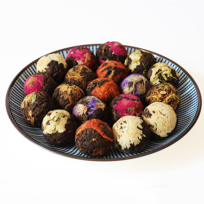 2021 New Product China Longzhu Puer Flower Ball Tea For Drink - 4uTea | 4uTea.com