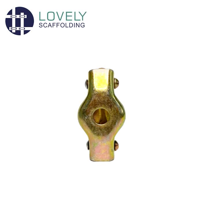 Color Galvanized British Scaffold Pipe Fittings Single Clamp