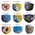 Nfl Quality Facemask High Quality 32 Teams Of NFL Football Fashion Reusable Washable Breathable Cowboys Saint Team Facemask In Stock