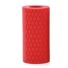 1 шт., толстые ручки для гантелей, штанги для тяжелой атлетики, силиконовая Нескользящая защитная накладка для бодибилдинга(Китай)