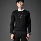 Reasonable Price New Style Wholesale Embroidered Versatile Round Neck Mens Sweatshirt