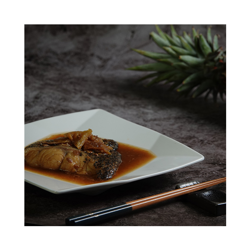 Dragon Tiger Grouper Fillet (cooked , with fermented pineapple soybean sauce)