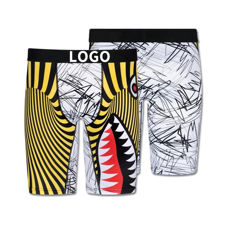2021 Men Boxer Briefs Wholesale Man Sport 3Xl Plus Size Quick Dry Comfortable Breathable Underwear