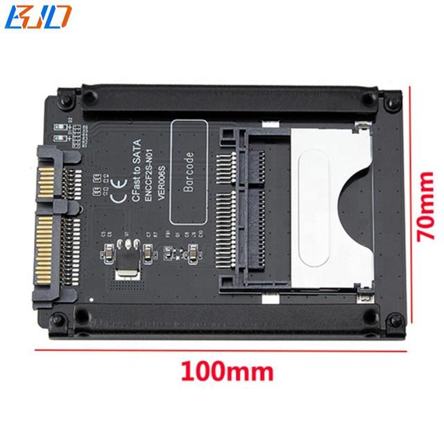 CFast кардридер для SATA3.0 22Pin конвертирует адаптер для ноутбука и настольного компьютера