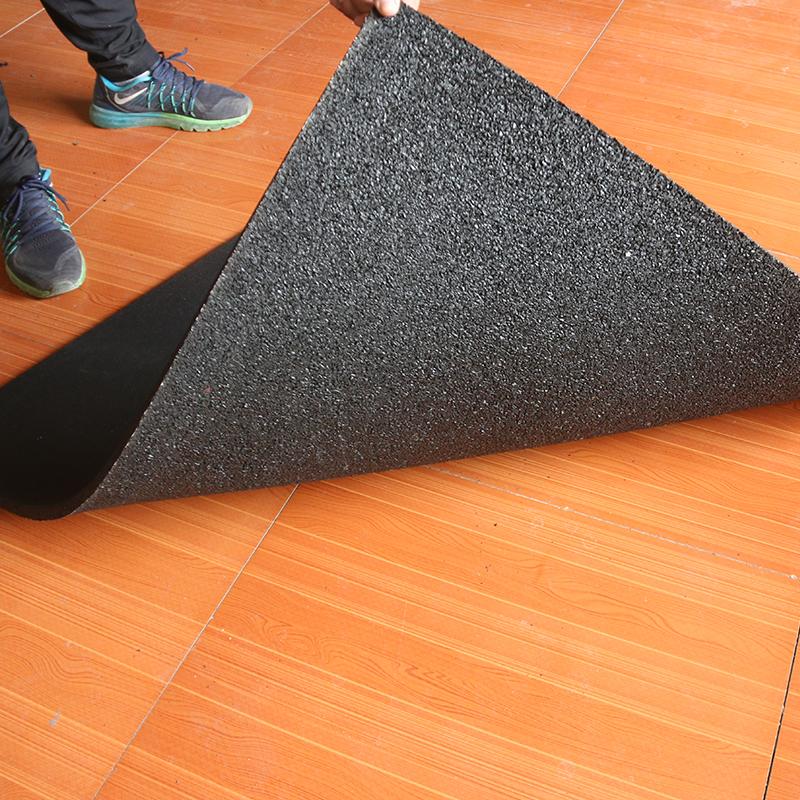 3/4 Inch 1m Epdm Elastic Qualified Home Flexible Gym Flooring Mat Rubber Floor Covering Matting Mats Rubber Tile Sport Floor