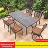 13-4 стула 2 вращающееся кресло 1 косая линия стол 175 см