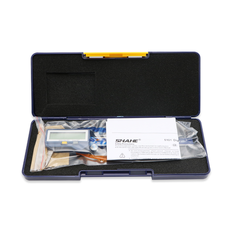 SHAHE 150mm Stainless Steel Built-in Wireless Digital Caliper With Large Screen Electronic Caliper with Wireless system