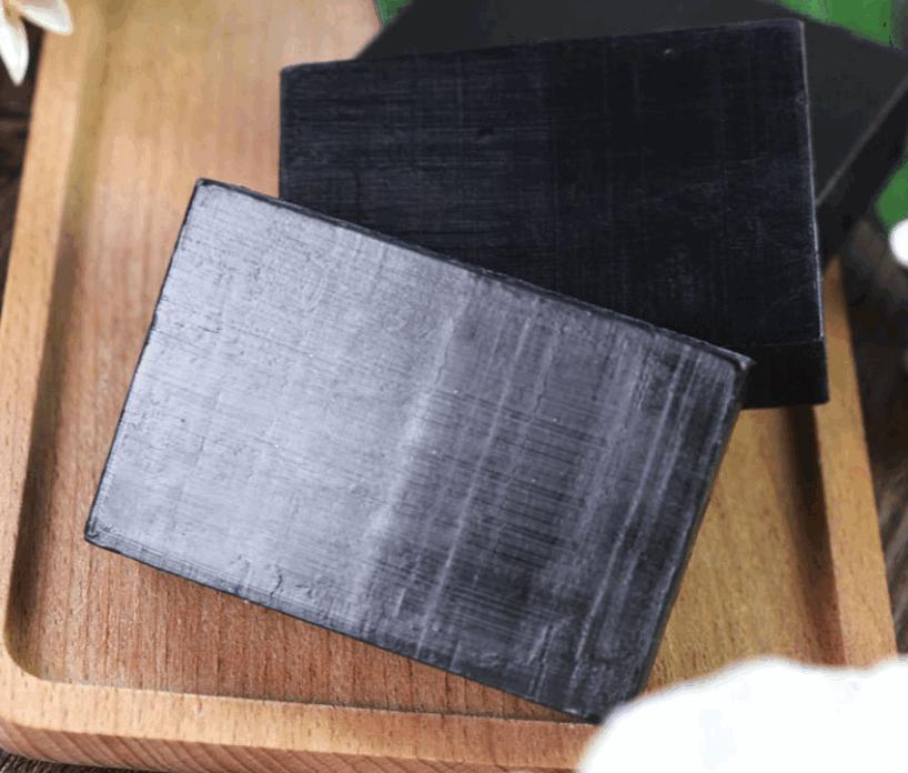 100g OEM Private Label Organic Black Soap Bamboo Charcoal Handmade Soap Whitening Kojic Acid Soap