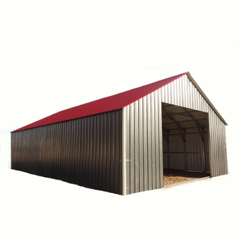 ISO9001 certificated steel structure warehouse construction tool house storage room workshop steel garage industrial shed