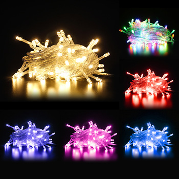 10M 20M 30M 50M 100M Fairy Lights LED String Holiday Wedding Christmas Decoration Waterproof LED Garland String Lights