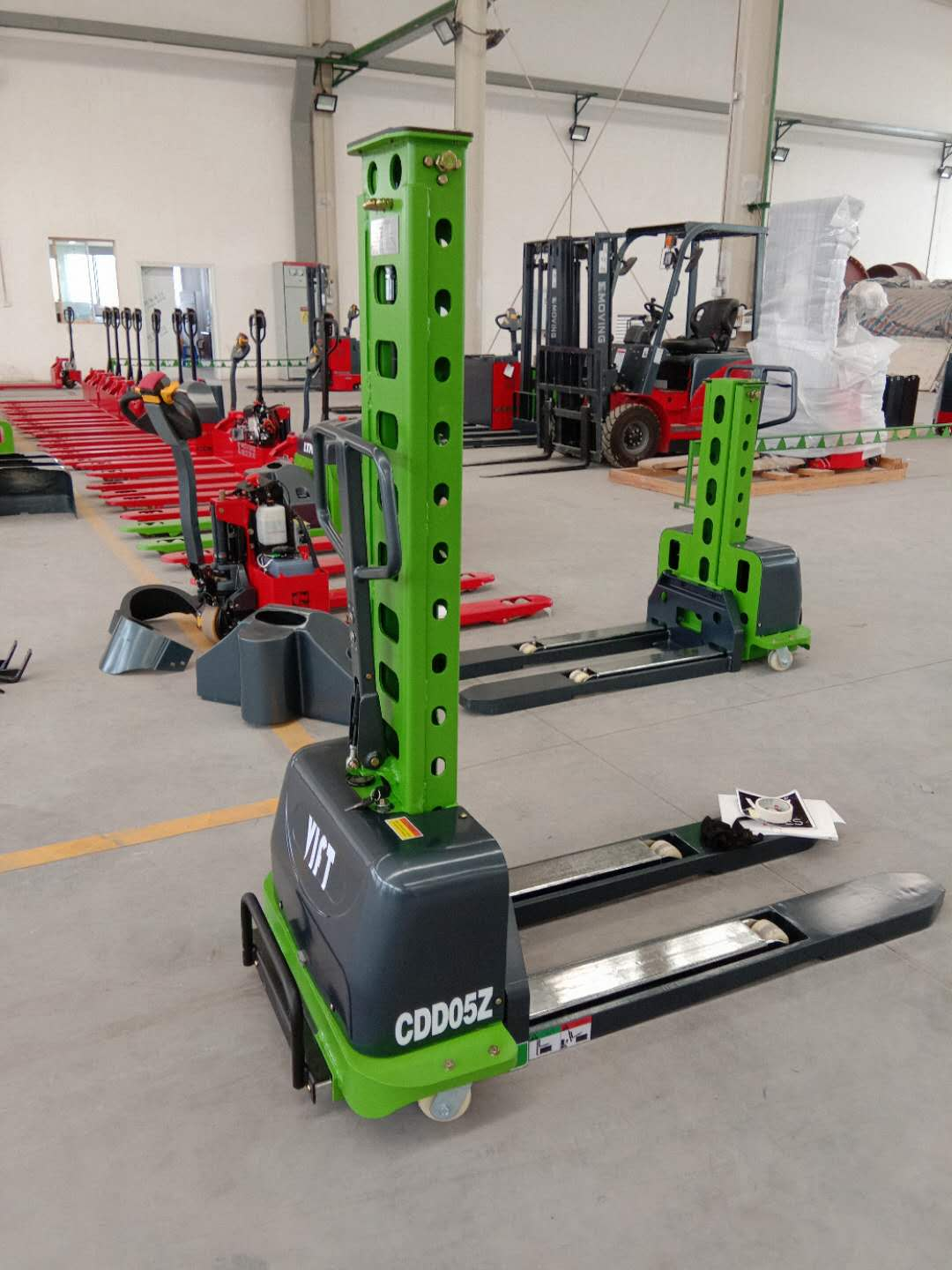 with High Quality self loading stacker portable electric forklift truck work visa with High Qualitybest sale stacker crane