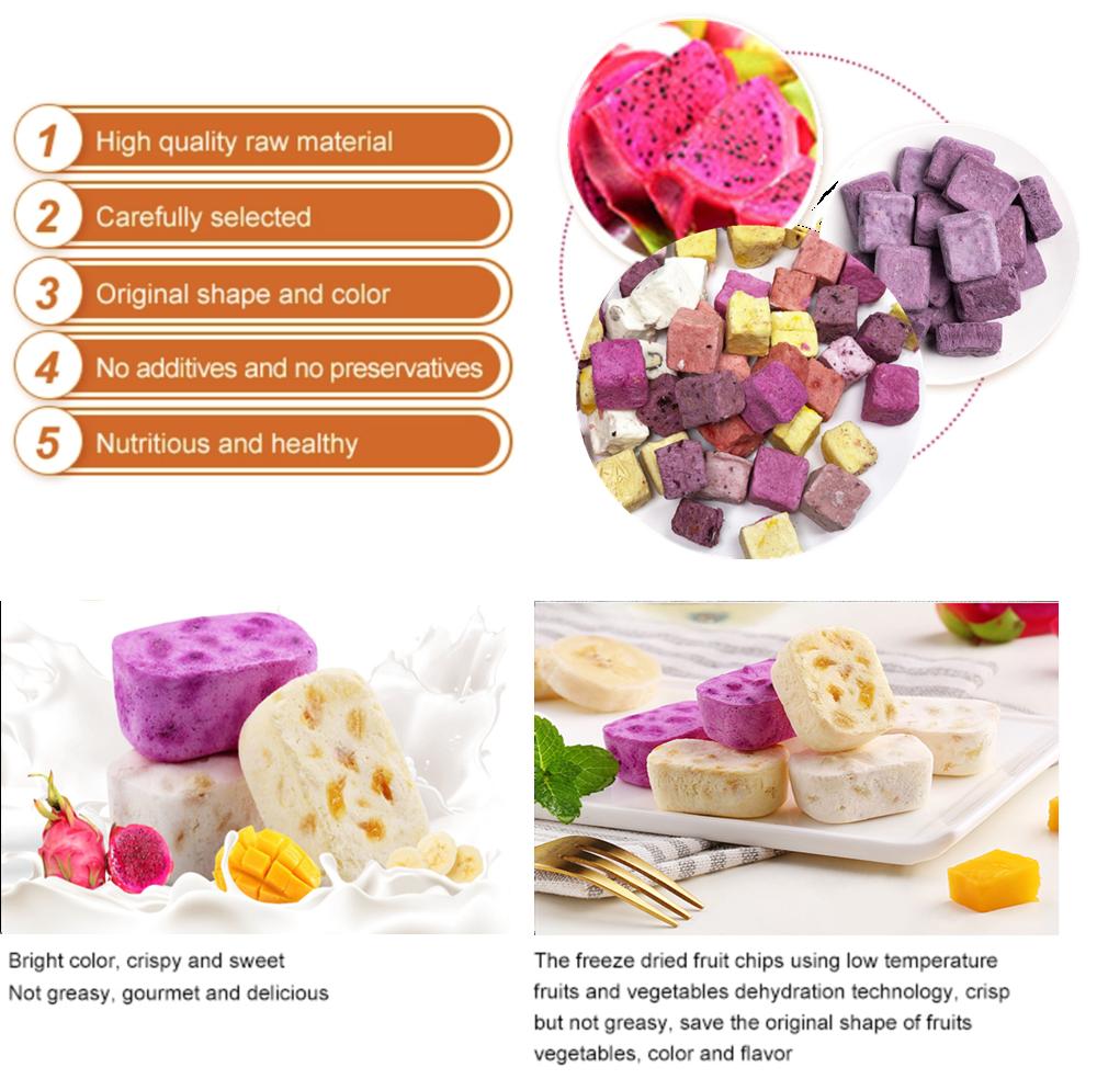 Natural freeze Dried Yogurt premium grade fresh Frozen Yogurt pieces Yoghourt with right prices